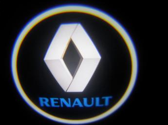 LED проекции  Renault 5е black поколение 7w.