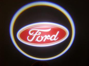 LED проекции Ford Red 5е поколение 7w
