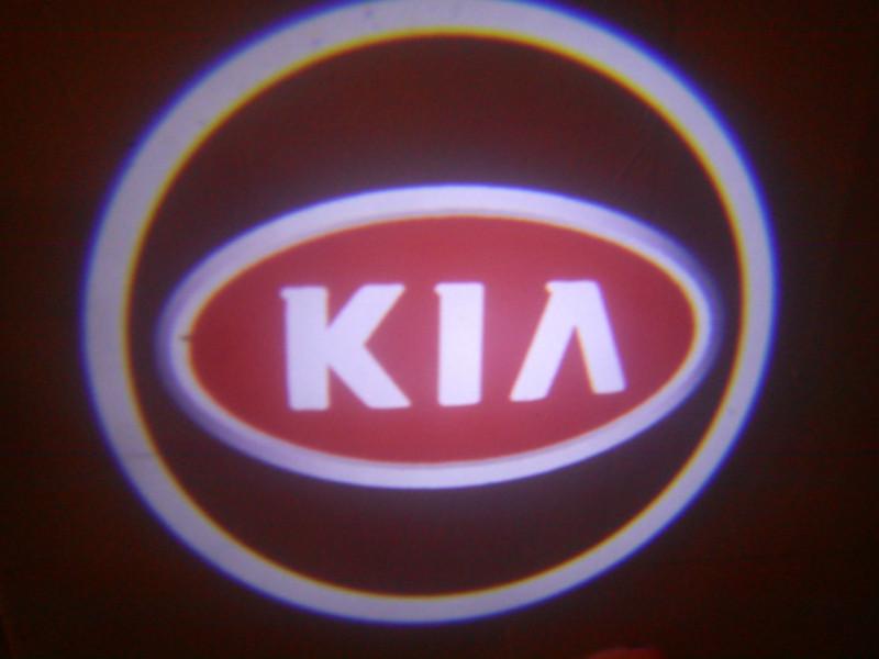 LED проекции Kia Red 5е поколение 7w
