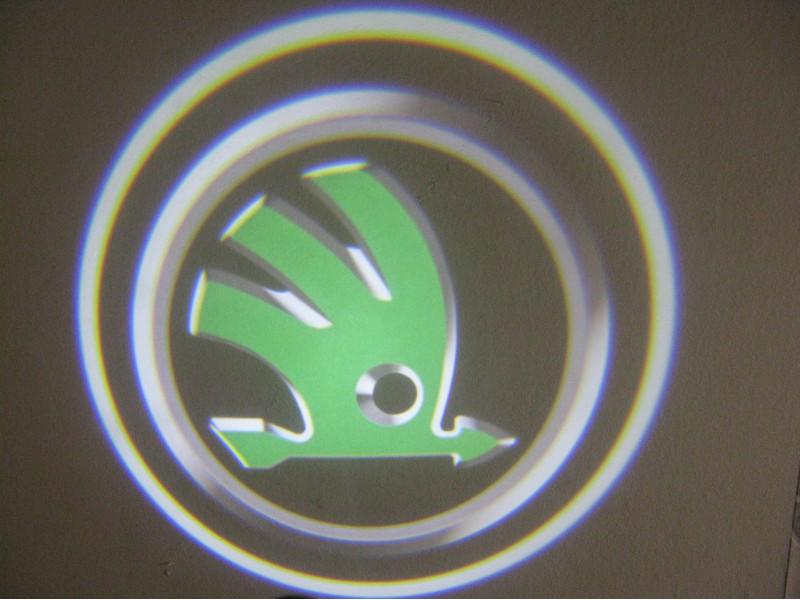 LED проекции Skoda New logo 5е поколение 7w