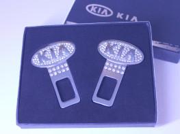 Заглушки ремня безопасности с логотипом KIA