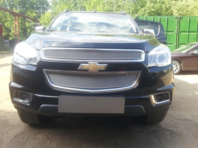 Защита радиатора ПРЕМИУМ Chevrolet Trailblazer 2 2013-2015