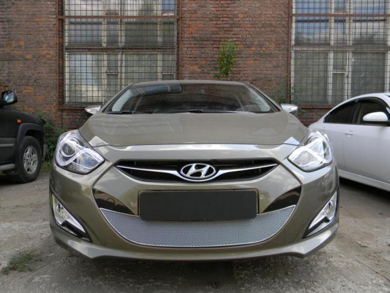 Защита радиатора ПРЕМИУМ Hyundai I40 2011-2015