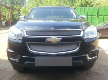 Защита радиатора CHEVROLET TrailBlazer 2 2013-2015