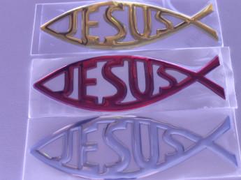 Наклейка Jesus.
