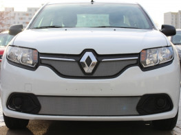 Защита радиатора RENAULT Logan 2 2014-2018 (Access, Confort)