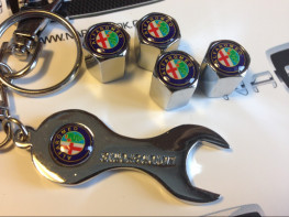 Колпачки на ниппель с логотипом ALFA ROMEO