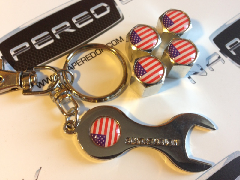 Колпачки на ниппель с логотипом USA