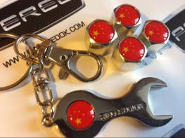Колпачки на ниппель с логотипом CHINA
