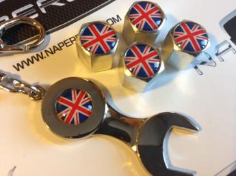 Колпачки на ниппель с логотипом BRITAIN