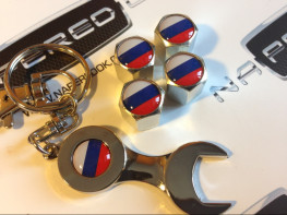 Колпачки на ниппель с логотипом RUSSIA