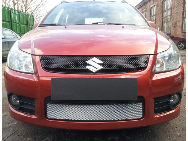 Защита радиатора  SUZUKI SX4 hathback 2006-2007 (Венгрия)