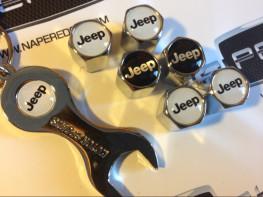 Колпачки на ниппель с логотипом JEEP