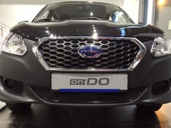 Защита радиатора ЛЮКС Datsun on-DO 2014