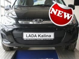 Защита радиатора ЛЮКС LADA Kalina 2 2013-2017