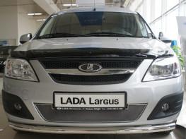 Защита радиатора ЛЮКС LADA Largus 2012-2019