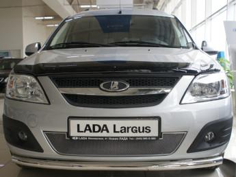 Защита радиатора ЛЮКС LADA Largus 2012-2020