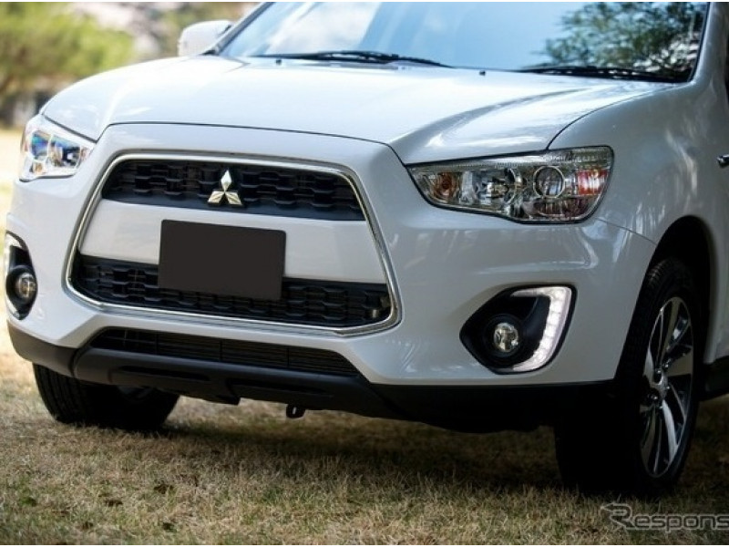 ДХО в Штатные места Mitsubishi ASX 2013-2015