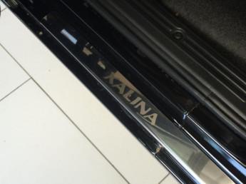 Накладки на пороги из стали LADA Kalina 2004-2019, 4шт.