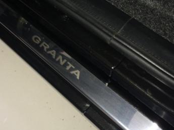 Накладки на пороги из стали LADA Granta 2011-2014, 4шт.