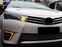 ДХО в Штатные места TOYOTA Corolla 2014-2015