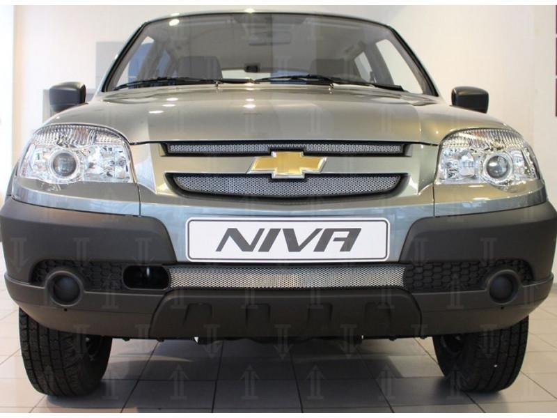 Защита радиатора Chevrolet Niva 1 2009-2020