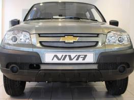 Защита радиатора CHEVROLET Niva 1 2009-2018 (рестайлинг)