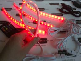 Атмосферная подсветка салона многоцветная с аудио контроллером