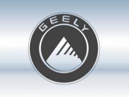 Защитная сетка радиатора Geely