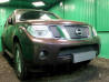 Защита радиатора ПРЕМИУМ Nissan Pathfinder 3 2010-2014 (рестайлинг)