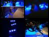 Атмосферная подсветка салона универсальная, Синее свечение.