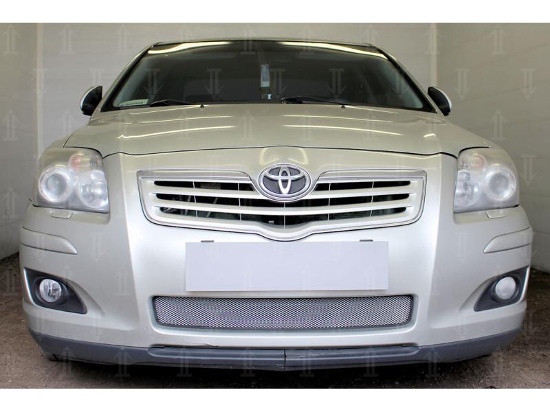 Защита радиатора TOYOTA Avensis 2 2006-2008 (рестайлинг)