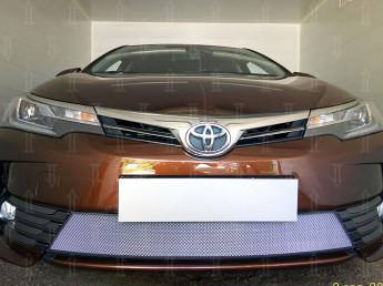 Защита радиатора TOYOTA Corolla 11 2016-2020 (рестайлинг)