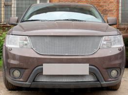 Защита радиатора ПРЕМИУМ Fiat Freemont 2013-2017