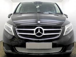 Защита радиатора ПРЕМИУМ Merсedes-Benz V-Klass 2 2014-2019