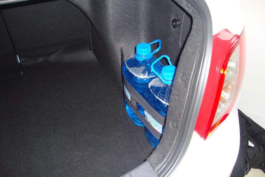 Как сделать крепеж в багажнике