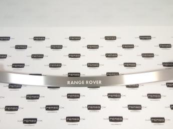 Накладка на задний бампер нерж.сталь с загибом LAND ROVER Range Rover 4 2017-2021 (рестайлинг)