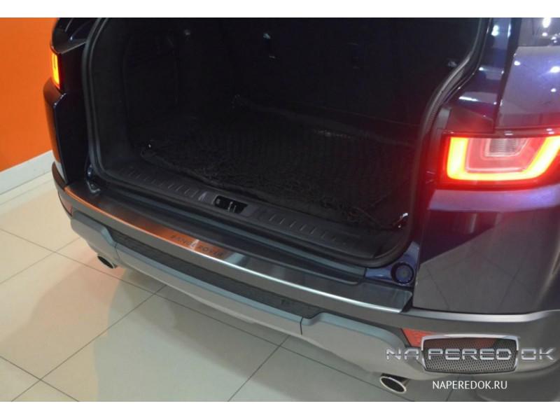 Накладка на задний бампер нерж.сталь с загибом LAND ROVER Range Rover 4 2013-2017