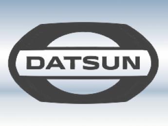 Наклейки на пороги Datsun