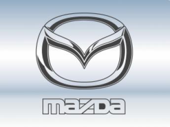 Накладки на задний бампер Mazda