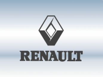 Накладки на задний бампер Renault