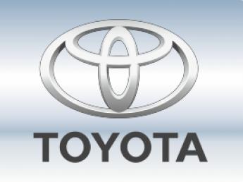 Накладки на задний бампер Toyota