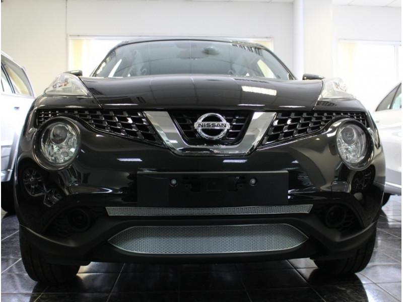 Защита радиатора ПРЕМИУМ Nissan Juke 2014-2020 (рестайлинг)