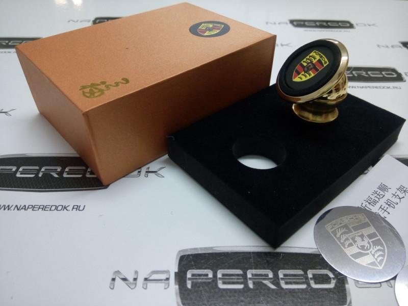 Магнитный держатель телефона в автомобиль Porsche