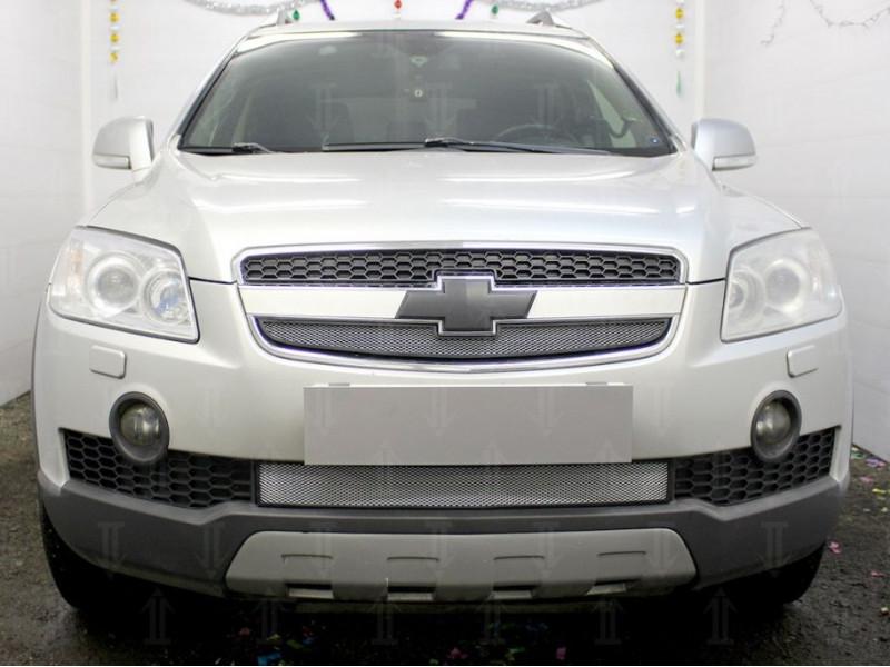 Защита радиатора Chevrolet Captiva 1 2006-2011