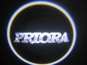 LED проекции LADA Priora 5е поколение 7w