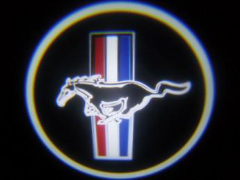 LED проекции Mustang 5е поколение 7w
