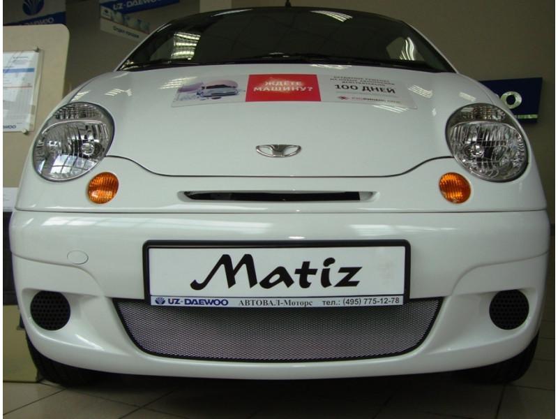 Защита радиатора  Daewoo Matiz 2000-2015