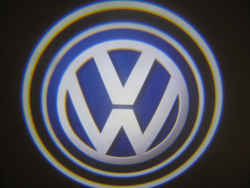LED проекции Volkswagen 5е поколение 7w