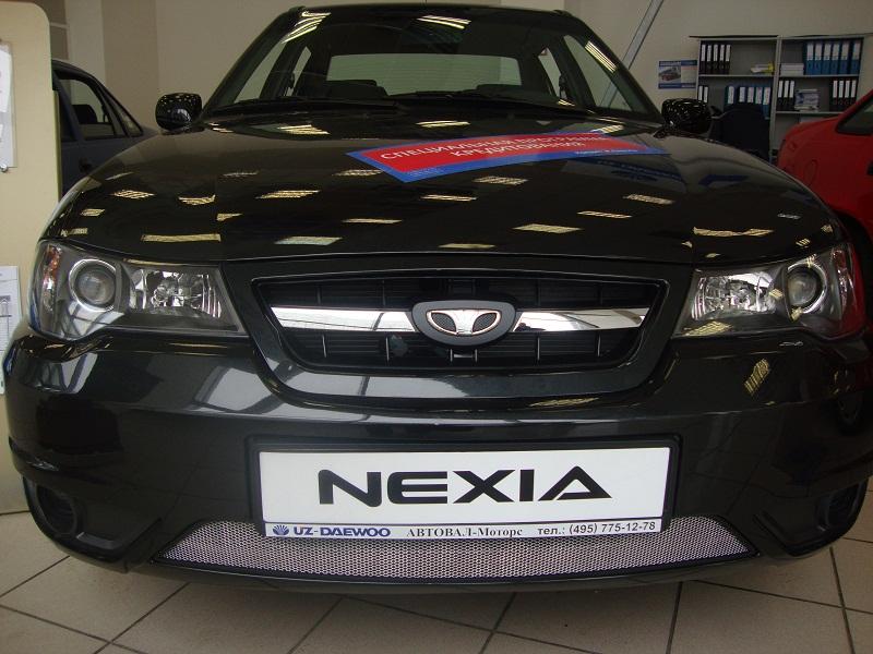 Защита радиатора Daewoo Nexia N150 2008-2016